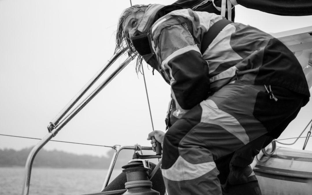 A bord d'un voilier – Morbihan