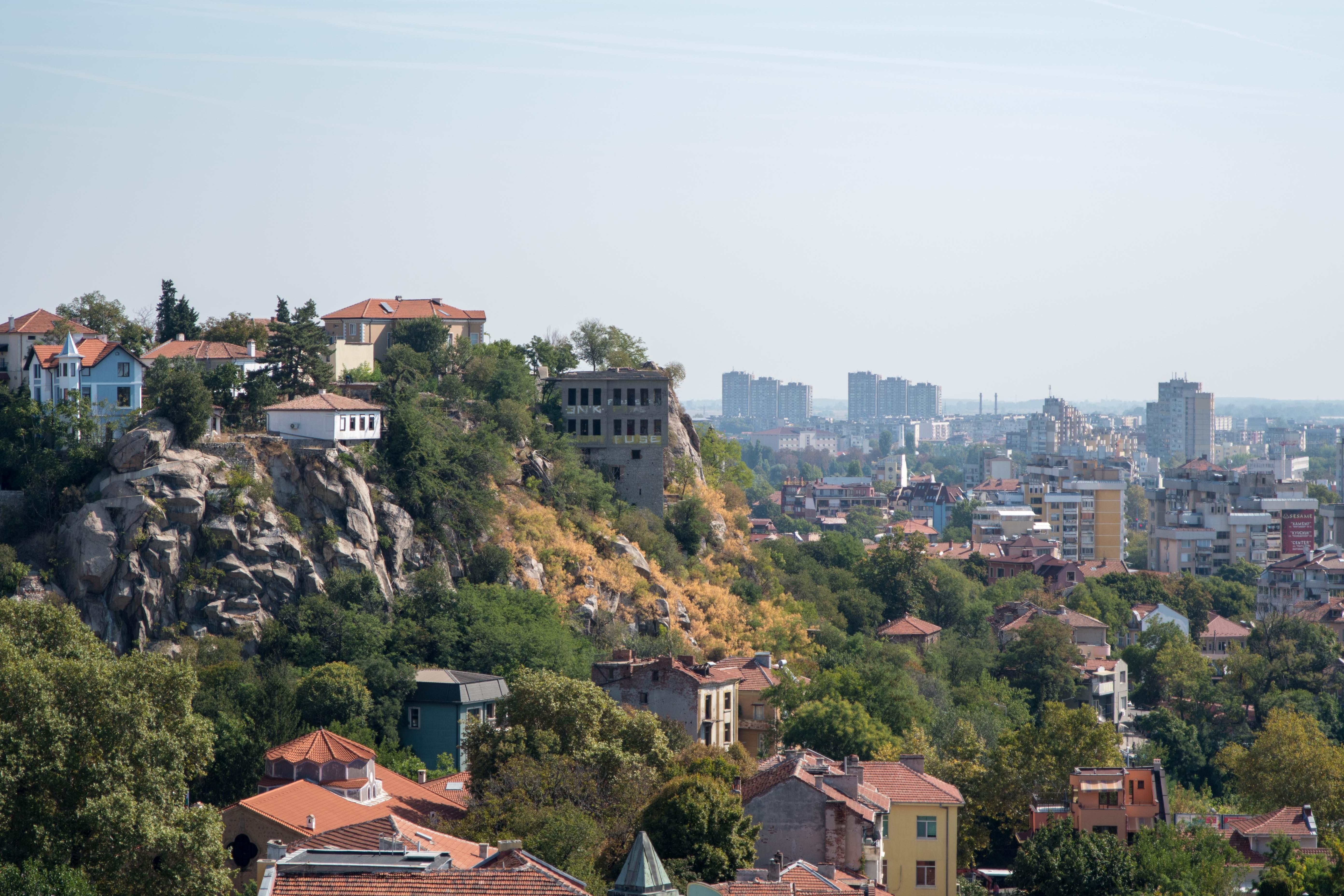 Plovdiv, grande ville de Bulgarie