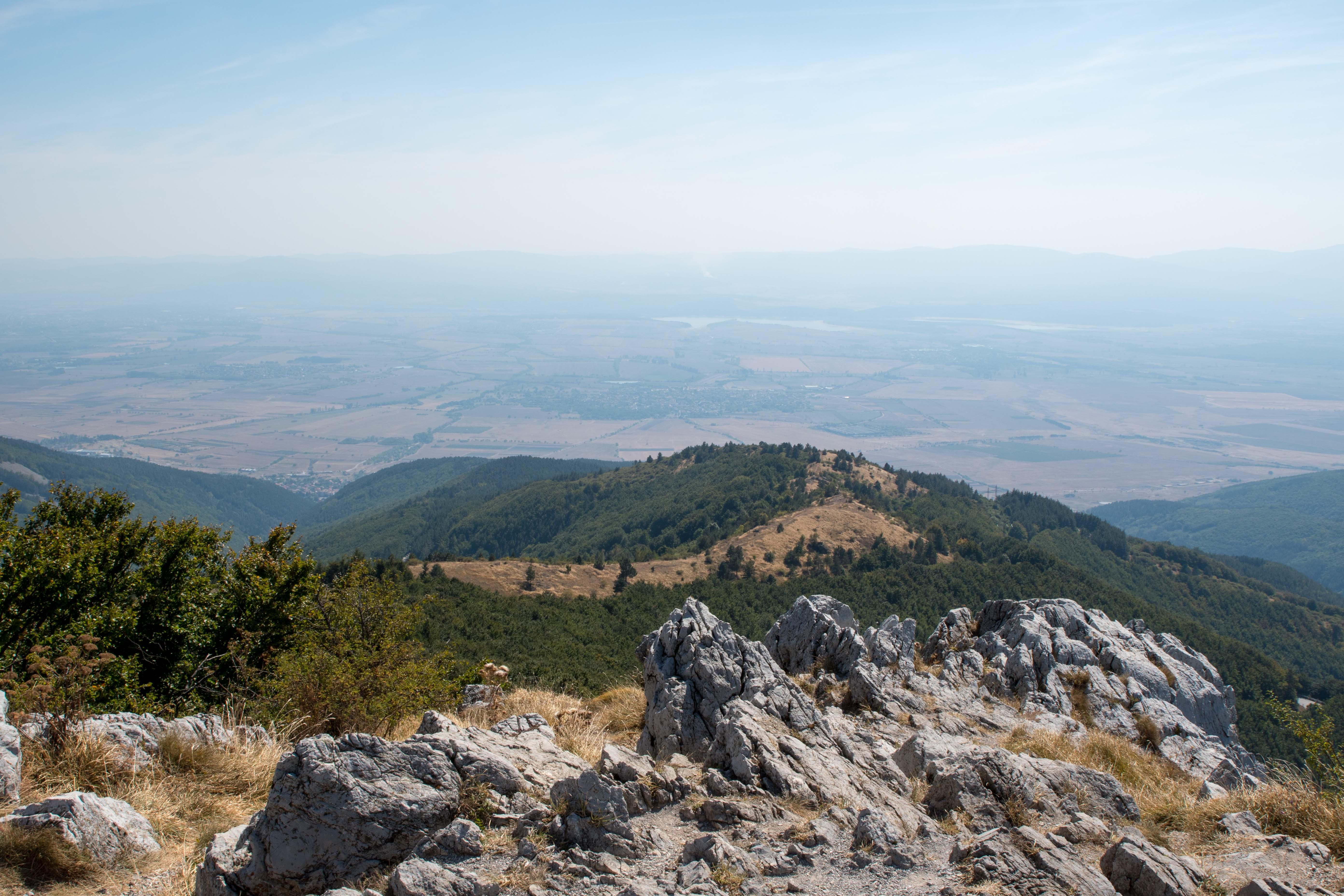 Vue des montagnes